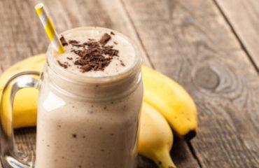 Smoothie chocolat banane